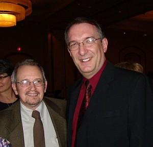 Michael Lee Joshua and Steve Laube